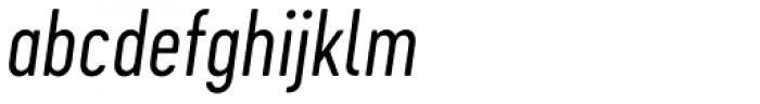 Cervo Neue Light Italic Font LOWERCASE