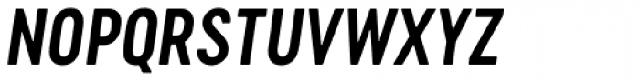 Cervo Neue Semi Bold Italic Font UPPERCASE