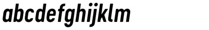 Cervo Neue Semi Bold Italic Font LOWERCASE