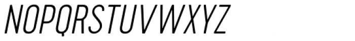 Cervo Thin Italic Font UPPERCASE