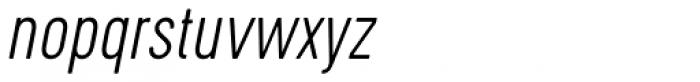 Cervo Thin Italic Font LOWERCASE