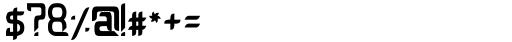 Ceventa Regular Font OTHER CHARS