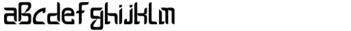 Ceventa Regular Font LOWERCASE
