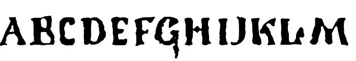 1350PrimitiveRussian Font UPPERCASE