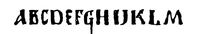 1350PrimitiveRussian Font LOWERCASE