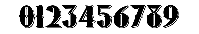 1873 Winchester Font OTHER CHARS
