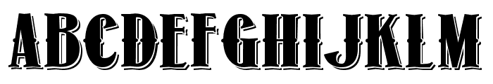 1873 Winchester Font UPPERCASE
