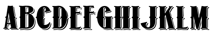 1873 Winchester Font LOWERCASE