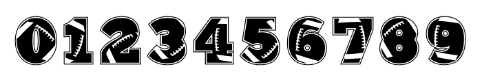 212 Football Font OTHER CHARS