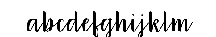 212 Warmheart Font LOWERCASE