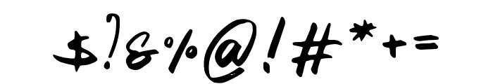 21st Street Regular Font OTHER CHARS