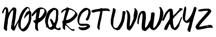 21st Street Regular Font UPPERCASE