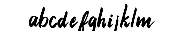 21st Street Regular Font LOWERCASE