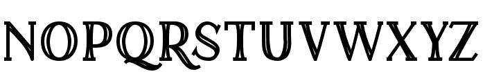 ALEMAN Font UPPERCASE