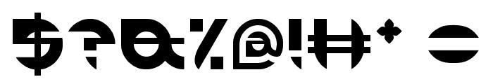 ALEXANDRA Font OTHER CHARS