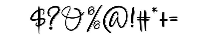 ALOHA ROSE Font OTHER CHARS