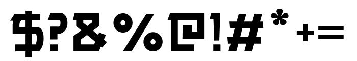 ALPAWOLF Bold Font OTHER CHARS