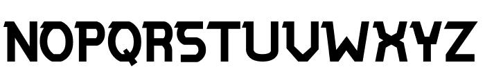 ALPAWOLF Bold Font UPPERCASE