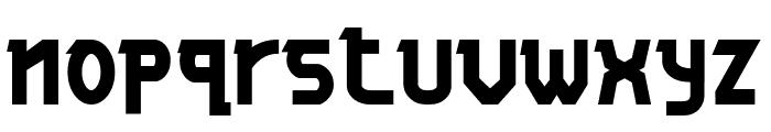 ALPAWOLF Bold Font LOWERCASE