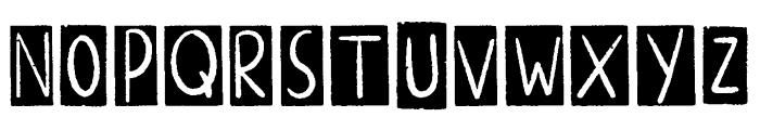 ALTERNATIVE ROCK Border Font LOWERCASE