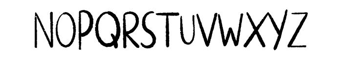 ALTERNATIVE ROCK Font UPPERCASE