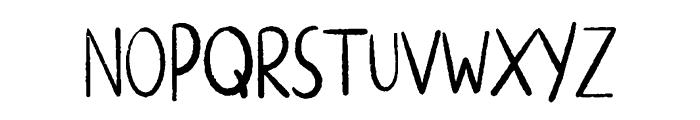 ALTERNATIVE ROCK Font LOWERCASE