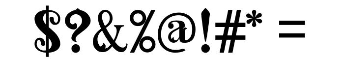 AMAZINGA Font OTHER CHARS