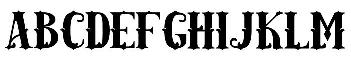AMAZINGA Font UPPERCASE