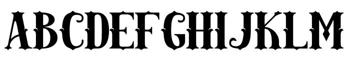 AMAZINGA Font LOWERCASE
