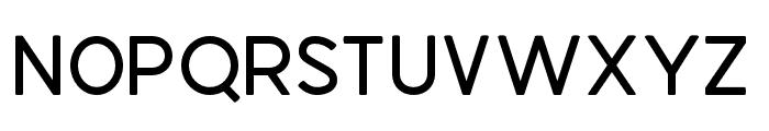 AMERICABLACK Font LOWERCASE