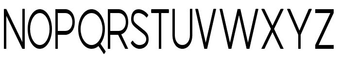 AMERICASCALE Font UPPERCASE