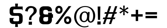 ARGANDE Regular Font OTHER CHARS