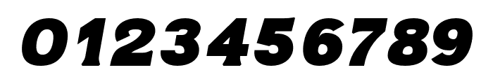 ATOMIC regular-italic Font OTHER CHARS