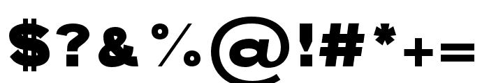 ATOMIC regular Font OTHER CHARS