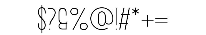 AURANOUVA Regular Font OTHER CHARS