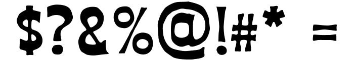 AZ Union Font OTHER CHARS