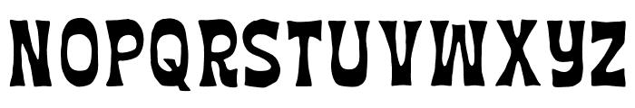 AZ Union Font UPPERCASE