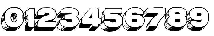 AZPostcard3D Font OTHER CHARS