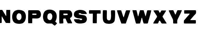 AZPostcard Font UPPERCASE