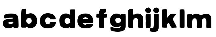 AZPostcard Font LOWERCASE