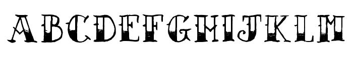 AZSailorTattoo Font UPPERCASE