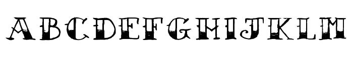 AZSailorTattoo Font LOWERCASE