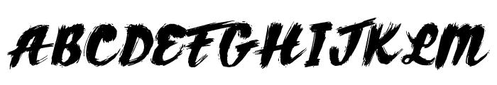 AZTexture Font UPPERCASE