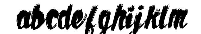 AZTexture Font LOWERCASE