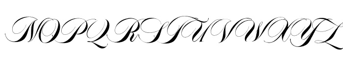 Abella Script Font UPPERCASE