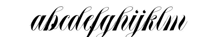 Abella Script Font LOWERCASE
