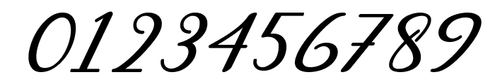 Abilya Italic Font OTHER CHARS