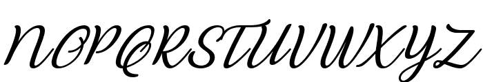 Abilya Italic Font UPPERCASE