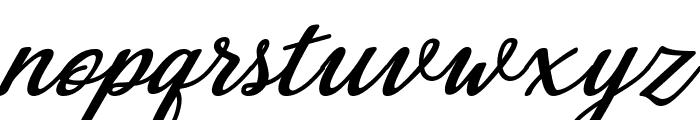 Abilya Italic Font LOWERCASE