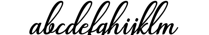 Abilya Font LOWERCASE